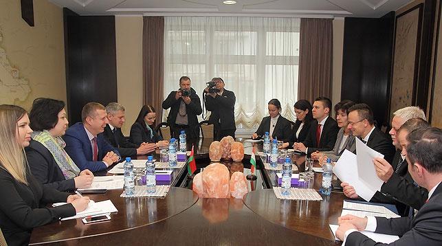 Во время встречи. Фото Минэкономики