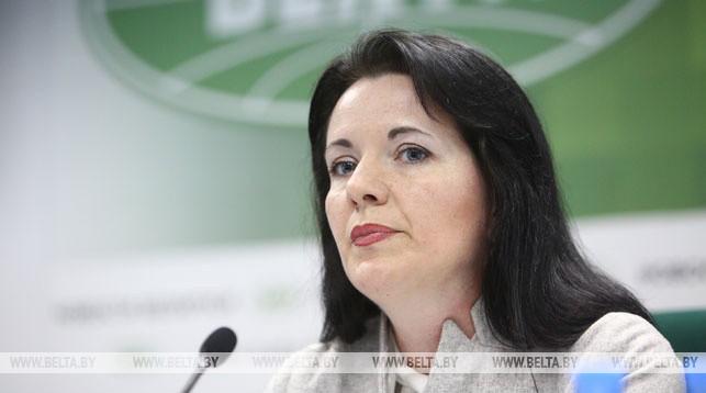 Наталия Павлюченко во время пресс-конференции