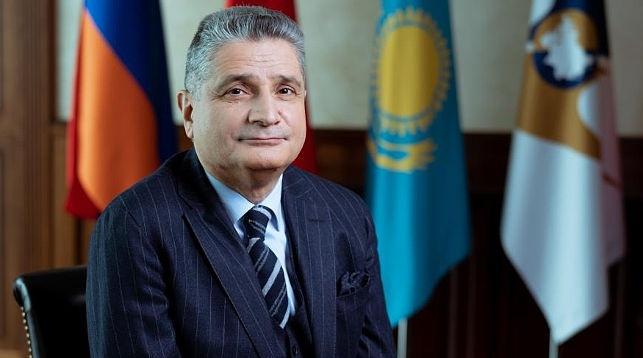 Тигран Саркисян. Фото из архива ЕЭК