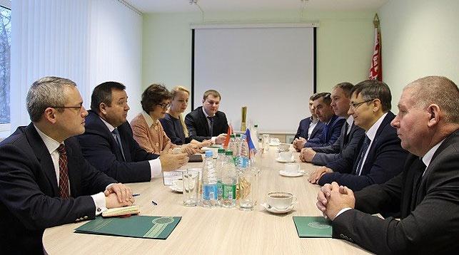 Во время встречи. Фото Министерства природных ресурсов и охраны окружающей среды