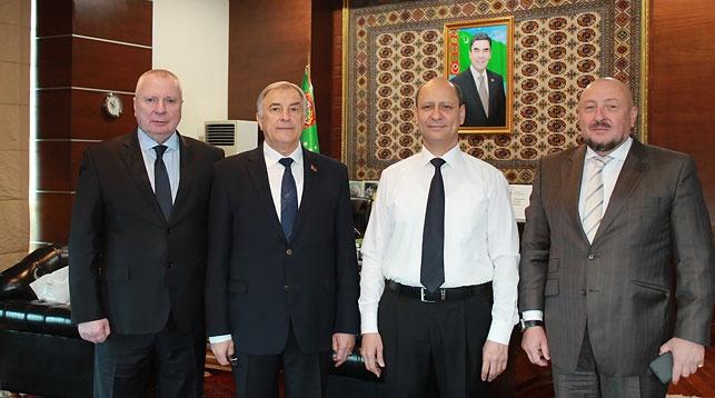 Фото посольства Беларуси в Туркменистане