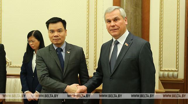 Фам Хай и Владимир Андрейченко