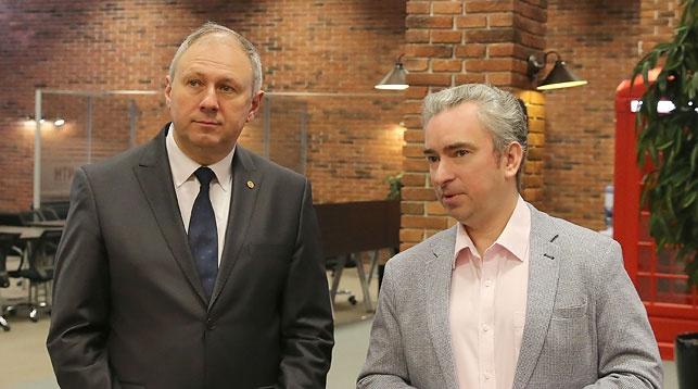 Сергей Румас и Всеволод Янчевский