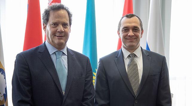 Хосе Ориве и Александр Субботин. Фото ЕЭК