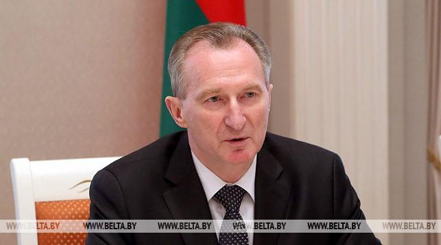 Помощник Президента Беларуси Александр Косинец. Фото из архива