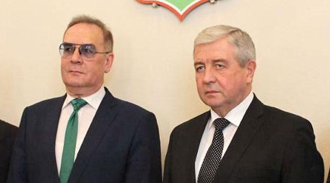 Николай Булакин и Владимир Семашко. Фото посольства Беларуси в России