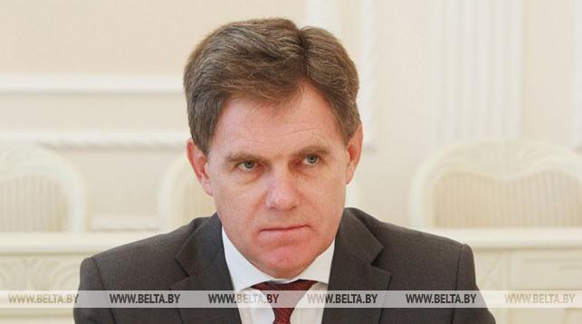 Игорь Петришенко. Фото пресс-службы правительства - БЕЛТА.