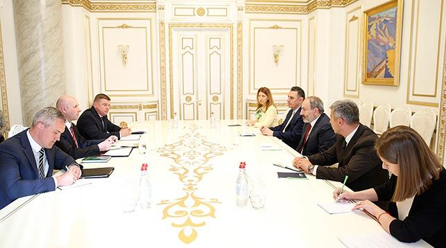 Во время встречи. Фото посольства Беларуси в Армении