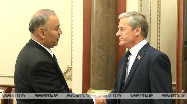 Нурулло Окилзода и Болеслав Пирштук