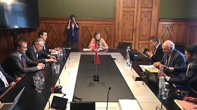 Фото из твиттер-аккаунта посольства Беларуси в Швейцарии