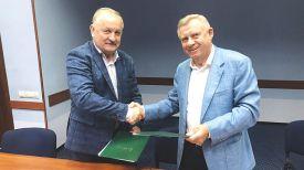 Павел Каллаур и Яков Смолий. Фото Нацбанка Украины
