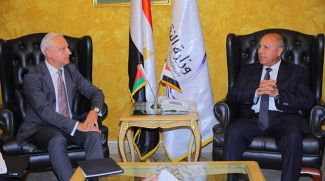 Во время встречи. Фото посольства Беларуси в Египте
