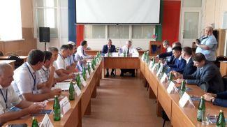 Во время рабочей поездки Владимира Семашко. Фото посольства Беларуси в России