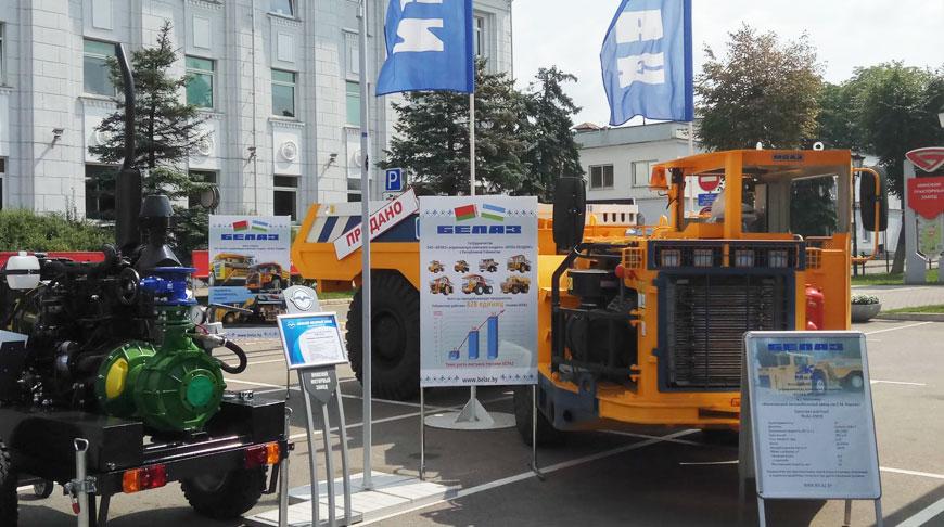 МоАЗ–65010 на выставке техники I Форума регионов Беларуси и Узбекистана. Фото belaz.by