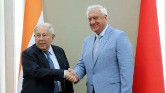 Юсуф Хамид и Михаил Мясникович