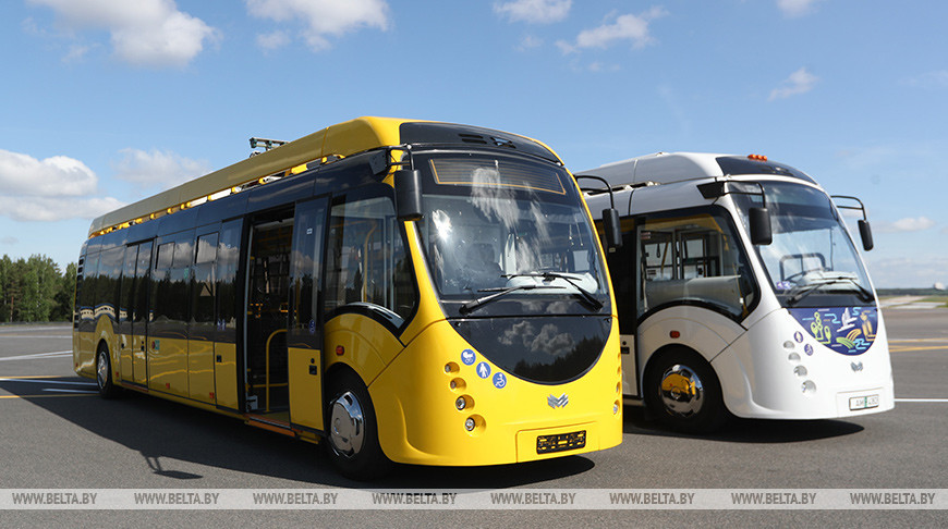 Белорусские электробусы. Фото из архива