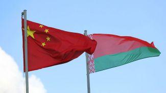 Тьян Гуофен и Кирилл Рудый. Фото посольства Беларуси в Китае