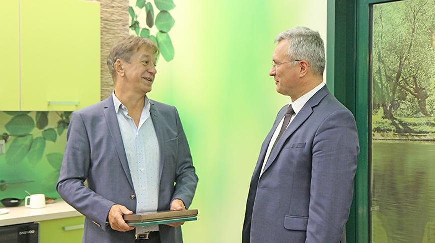 Сильвестр Малаг и Александр Осмоловский. Фото БУТБ