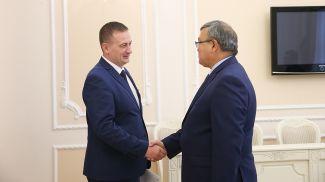 Александр Турчин и Аскар Бейсенбаев