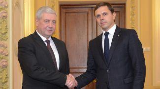 Владимир Семашко и Андрей Клычков. Фото посольства Беларуси в России