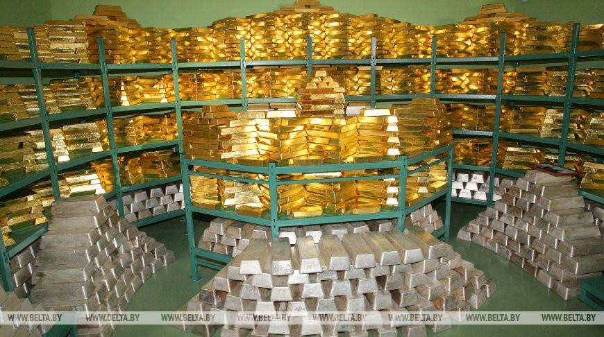 Золотовалютные резервы Беларуси составили $8,8 млрд