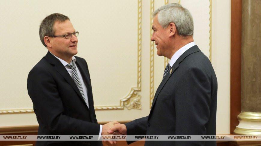 Манфред Хутерер и Владимир Андрейченко