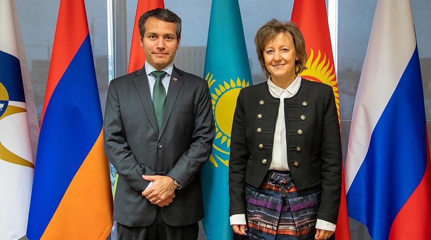 Родриго Яньес Бенитес и Вероника Никишина. Фото ЕЭК
