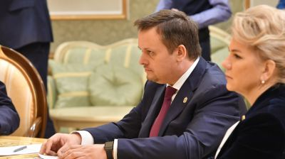 Андрей Никитин во время встречи