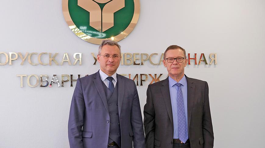 Александр Осмоловский и Эйнарс Семанис. Фото БУТБ