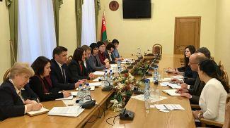 Во время встречи. Фото Министерства сельского хозяйства и продовольствия