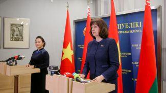 Нгуен Тхи Ким Нган и Наталья Кочанова