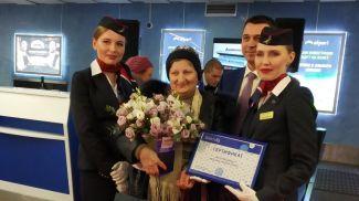 Юбилейный пассажир Татьяна Димирова