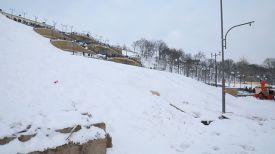 Фото с места трагедии в Могилеве