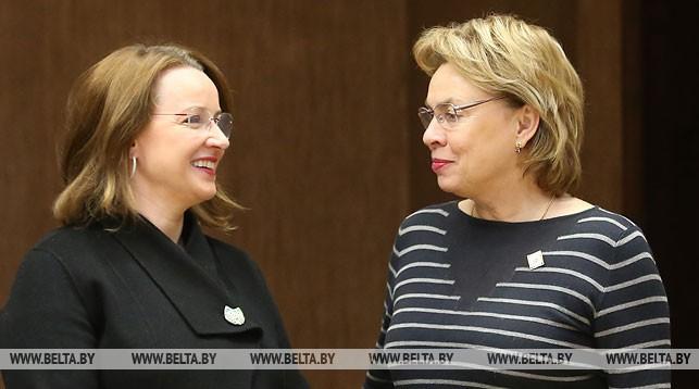 Иоанна Казана-Вишневецкий и Марианна Щеткина