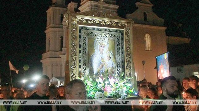 Икона Матери Божьей Будславской. Фото из архива