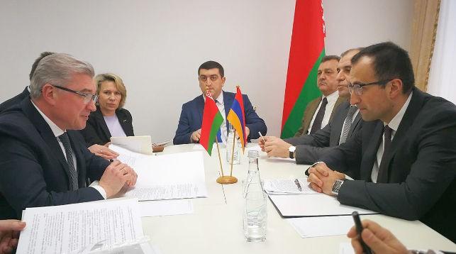 Во время встречи. Фото Минздрава
