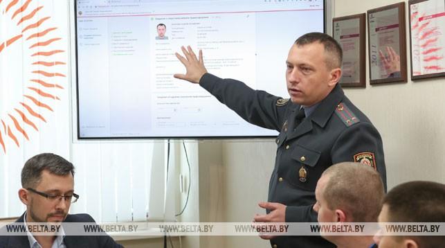 Андрей Игнатович демонстрирует новую систему