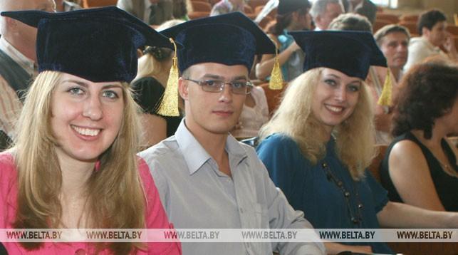 Выпускники магистратуры. Фото из архива