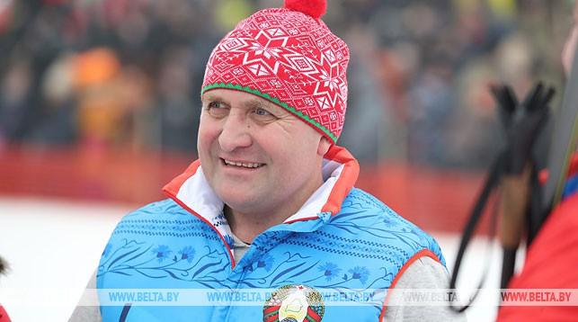 Владимир Жевняк во время соревнований
