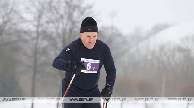 Леонид Анфимов во время соревнований