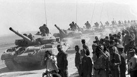 Февраль 1989 года. Советские танкисты возвращаются на Родину. Фото Итар-ТАСС - БелТА