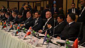 Во время конференции. Фото МВД