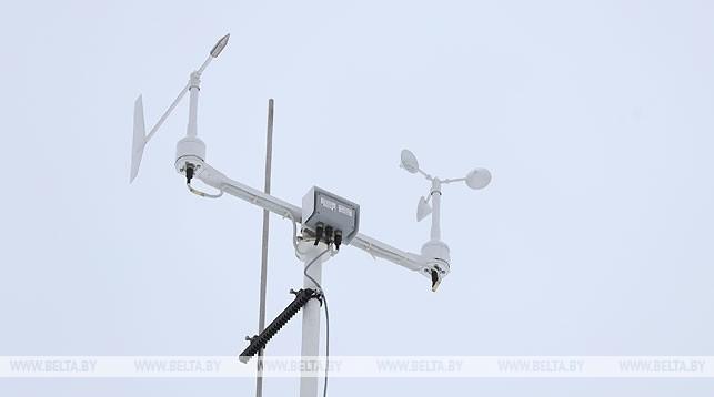 Новая метеостанция в районе Уручья. Фото из архива