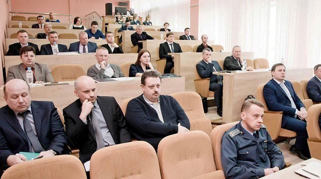 Во время заседания. Фото ГТК