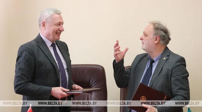 Валерий Скакун и Фабрицио Пачифичи