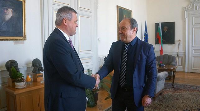 Фото посольства Беларуси в Болгарии