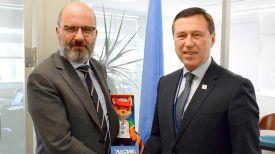 Роберт Пайпер и Георгий Катулин. Фото официального сайта Европейских игр