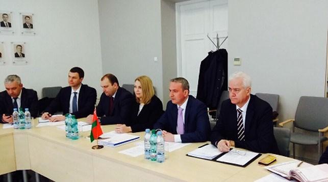 Во время встречи. Фото Министерства транспорта и коммуникаций