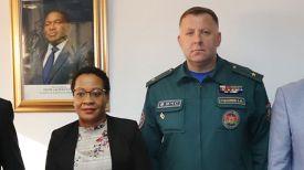 Елена Кида и Александр Худолеев. Фото МЧС