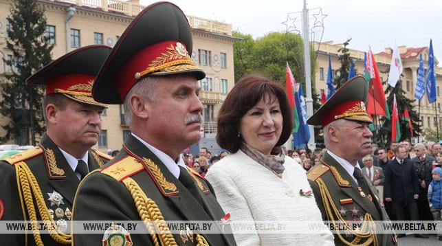 Наталья Кочанова во время праздника